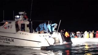 TRT ekibi ölüme itilen göçmenlerin hikayesine tanık oldu