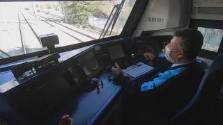 TRT Haber, üçüncü ihracat trenine eşlik etti