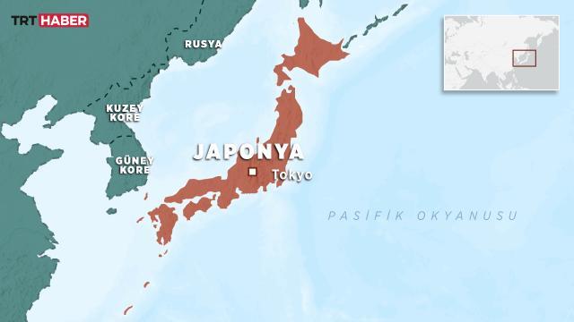 Japonyada denizaltı ile kargo gemisi çarpıştı