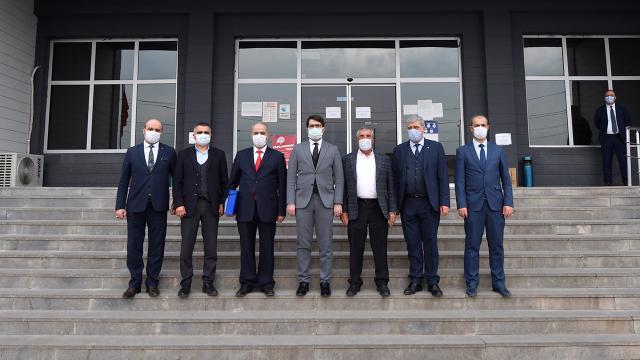 10 bin kişilik istihdam sağlayacak Karacadağ OSB için ilk adım