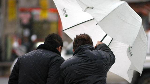 5 il için kuvvetli rüzgar ve fırtına uyarısı