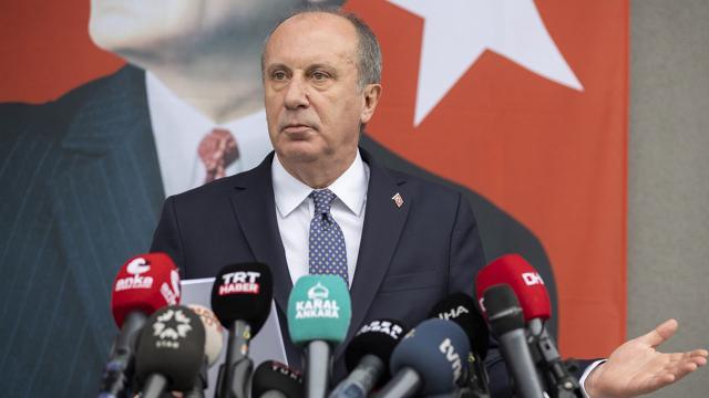 Muharrem İnce CHPden istifa etti