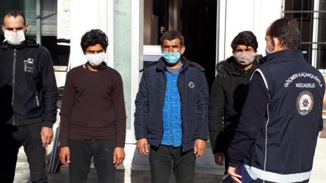 Osmaniyede 4 düzensiz göçmen yakalanan otobüsün şoförü ve muavini gözaltına alındı