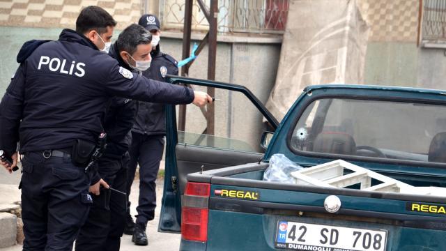 """Kayseride polisin """"dur"""" ihtarına uymayan iki şüpheli yakalandı"""