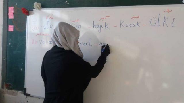 Barış Pınarı Harekatı bölgesinde dil ve din eğitimi desteği veriliyor