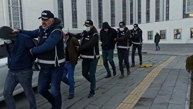 Erzurumda aranan kişilere operasyon: 6 tutuklama