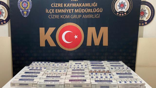 Şırnakta uyuşturucu ve kaçakçılık operasyonlarında 49 kişi gözaltına alındı