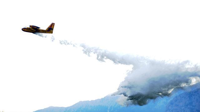 Hırvatistandan Türkiyeye yangın söndürme uçağı desteği