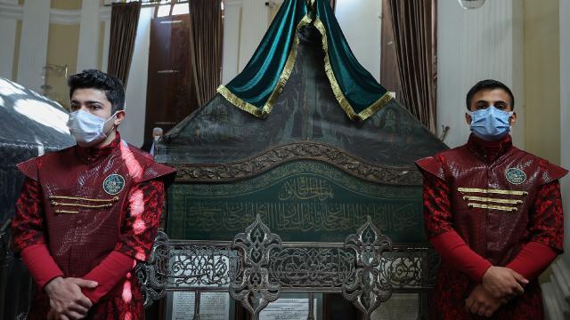 Sultan 2. Abdülhamid Han vefatının 103. yılında mezarı başında anıldı