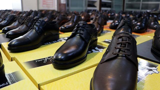 Türkiyede üretilen ayakkabılar Gaziantepte test edilecek
