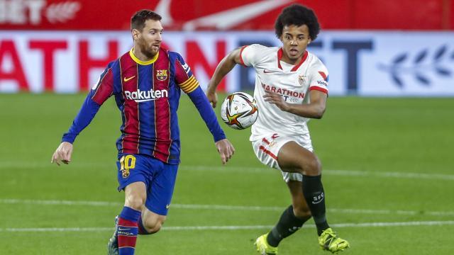 Sevilla, Barcelonadan avantajı kaptı