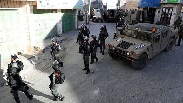 İsrail güçleri Batı Şeriada bir köye baskın düzenledi
