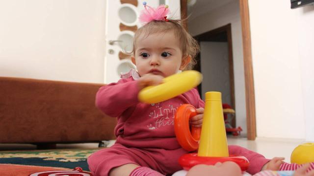 15 aylık Zeynepe ilik nakli için uygun donör aranıyor