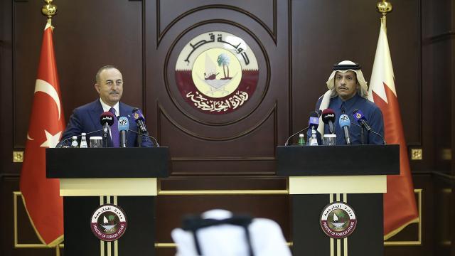 Dışişleri Bakanı Çavuşoğlu: Türkiye ile Katar ilişkileri her alanda daha da güçleniyor