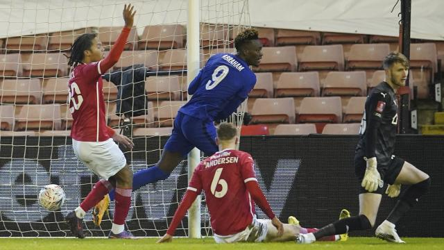 İngilterede son çeyrek finalist Chelsea