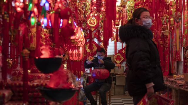 Çin Yeni Yılında COVID-19 tedbirleri