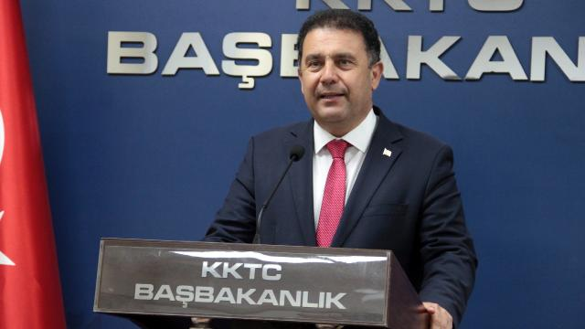 KKTC Başbakanı Sanerden Miçotakise tepki