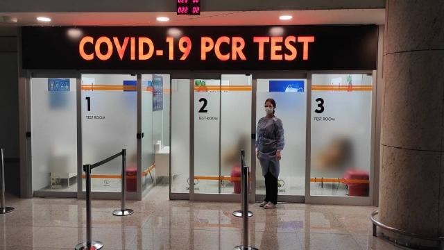 Esenboğa Havalimanında antijen testleri başladı