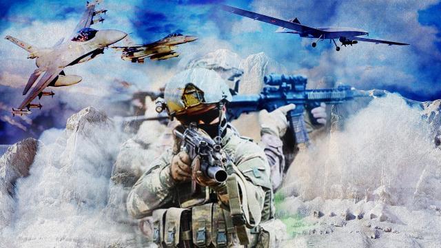 Garaya Pençe darbesi: F-16lar havada, komandolar karada