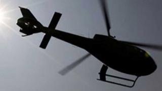 Çin'de helikopter düştü: 5 ölü