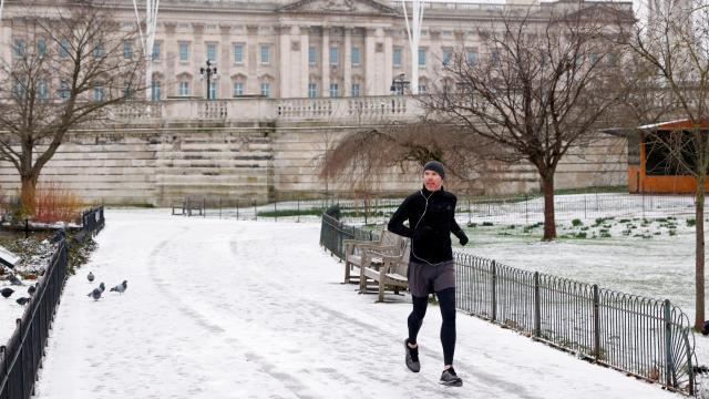 Birleşik Krallıkta son 10 yılın en soğuk gecesi