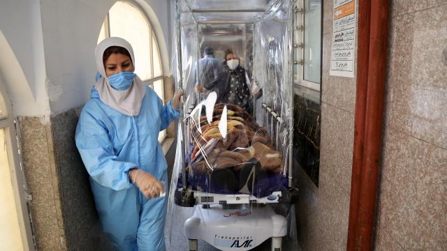 İranda son 24 saatte 453 can kaybı