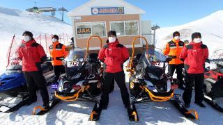 JAK timleri kayak merkezlerinde 24 saat nöbette