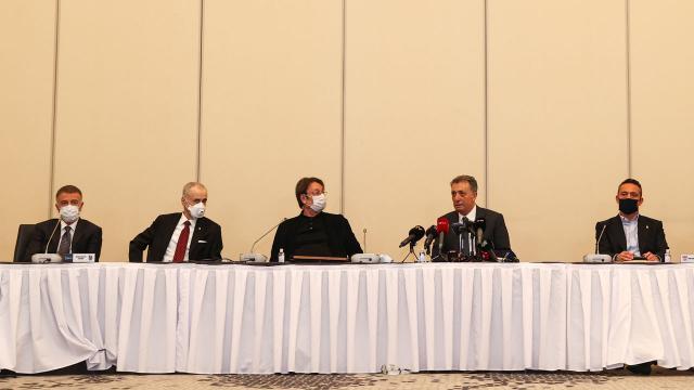 Kulüpler Birliğinde Ahmet Nur Çebinin yardımcıları belli oldu