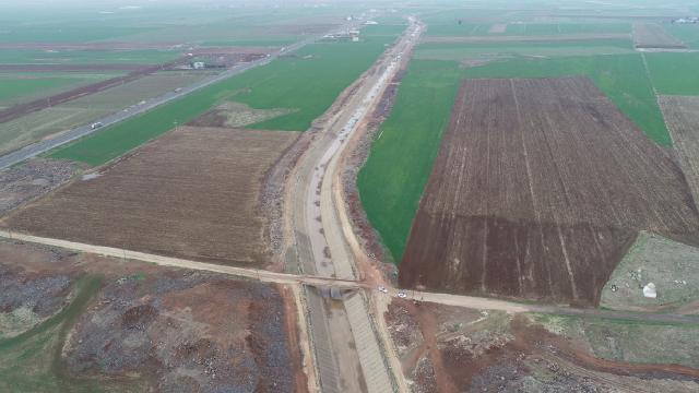 Türkiyenin en uzun sulama kanalı ile verim artacak