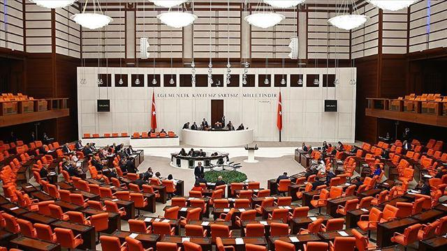 20 milletvekiline ait 22 fezleke Mecliste