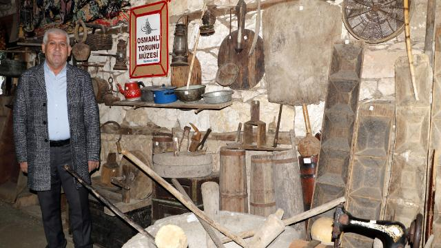 Bine yakın eski eşya sergileniyor: Osmanlı Torunu Köy Müzesi