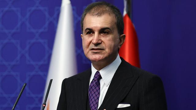 AK Parti Sözcüsü Çelikten Güney Kıbrıs Rum Kesimine tepki