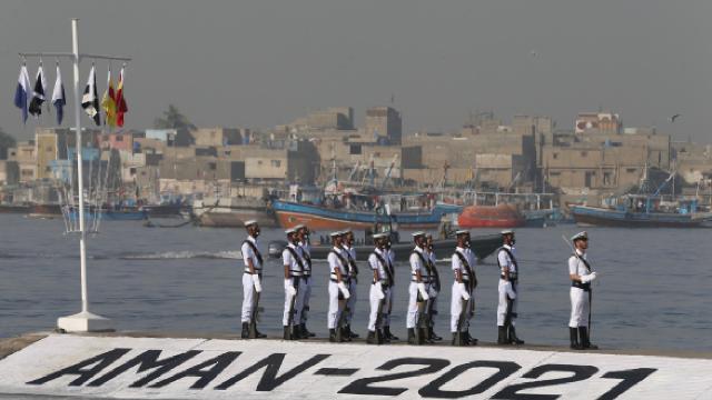 Çok uluslu deniz tatbikatı AMAN-2021 başladı
