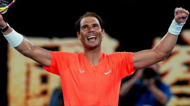Nadal Avustralya Açıkta 3. tura yükseldi