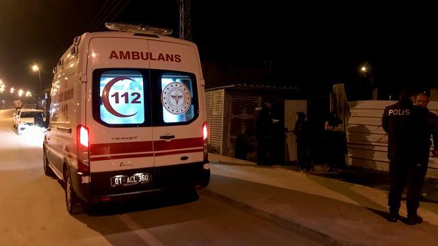 Adana'da silahlı saldırıya uğrayan kişi yaralandı - Son Dakika Haberleri