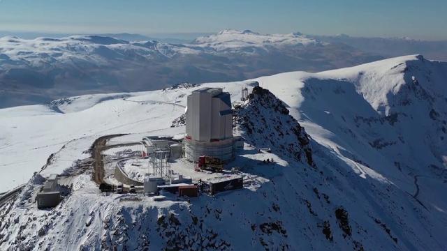 Türkiyenin en büyük optik teleskobu 2022de faaliyete geçecek