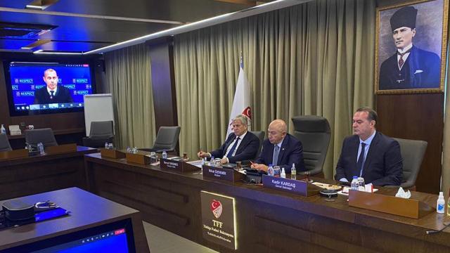 TFF heyeti UEFA toplantısına katıldı