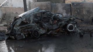 Afrin'de bombalı terör saldırısı: 1 ölü, 4 yaralı