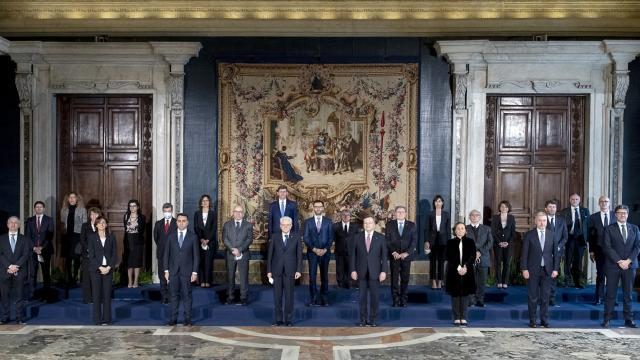 İtalyada yeni hükümet yemin ederek göreve başladı