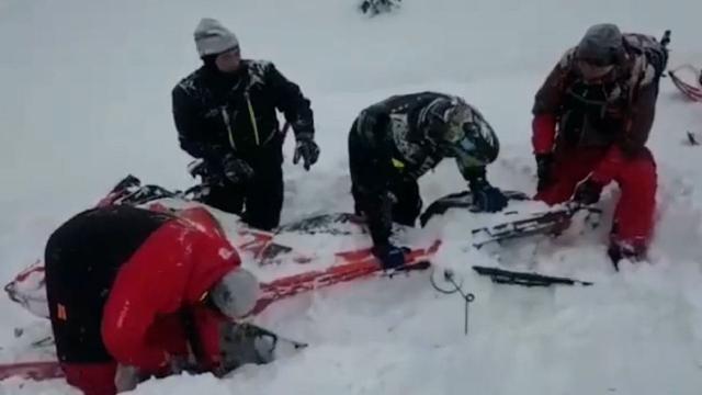 Kazakistanda çığ felaketi: 1 ölü