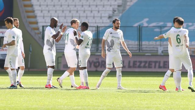 Konyaspor altı maç sonra kazandı
