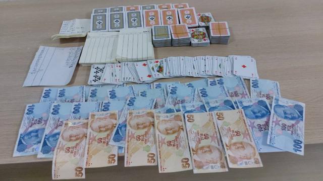 Kumar oynayan 7 kişiye 29 bin 400 lira ceza