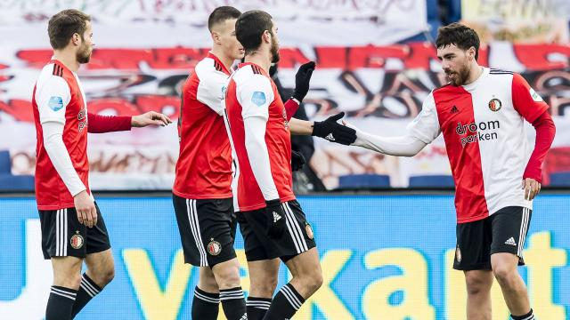 Orkun Kökçü attı Feyenoord farklı kazandı
