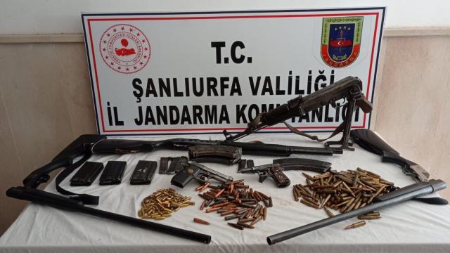 Şanlıurfada silah kaçakçılığı: 1 kişi gözaltına alındı