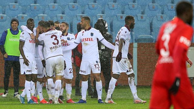 Trabzonspor seriye devam etti