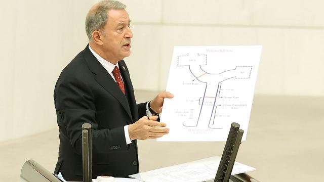 Bakan Akar Mecliste Gara operasyonunu anlattı
