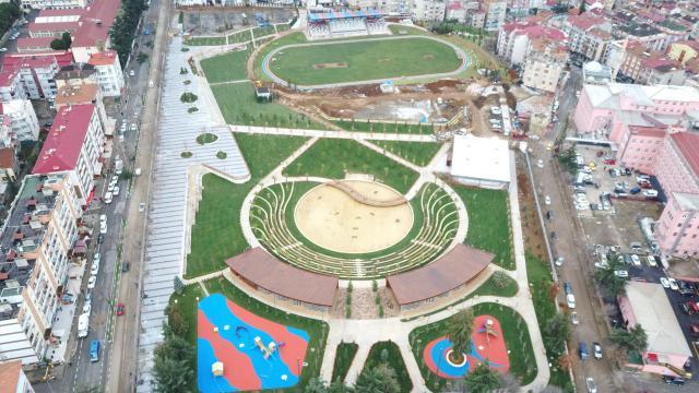 Trabzon Avni Aker Millet Bahçesinin ilk etabı tamamlandı