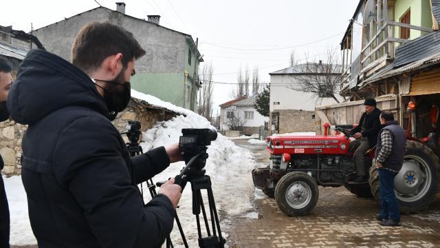 Görme engelli Hasan amcanın hayatı belgesel film oluyor