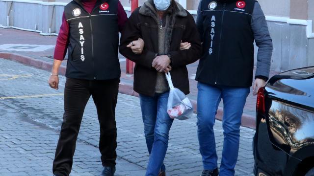Antalyada cezaevinden izinli çıkan tutuklu, Çanakkalede otomobil çaldığı iddiasıyla yakalandı