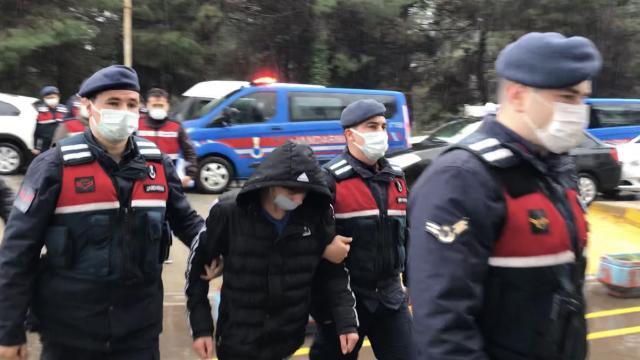 Giresunda İkra Nur Tirsinin ölümüne ilişkin gözaltına alınan 2 şüpheli adliyeye sevk edildi